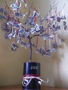 DIY Graduation Money Tree                                #diy #graduation #gift #money