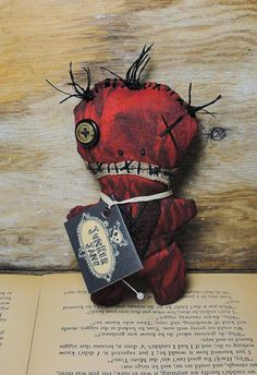 Handmade Voodoo Doll Voodoo Doll by JunkerJane on Etsy