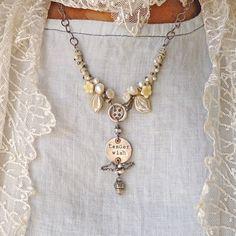 Tender Wish Woodland Necklace