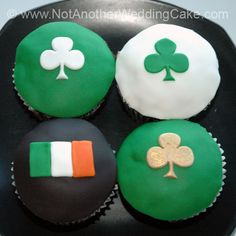 Irish Wedding cake | ... buttercream St. Patrick's Day cupcakes by Not ...