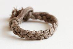 DIY Braided: DIY Rope Bracelet