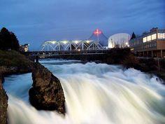 Spokane Falls at Riverfront Park