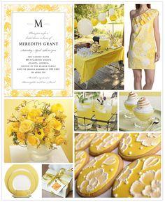 Bridal Shower Ideas Yellow
