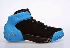 Jordan Melo 1.5 Retro Black/Carolina Blue Sneaker (Detailed Look)