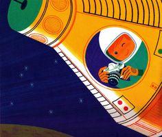 Alain Gree illustration, 1969.