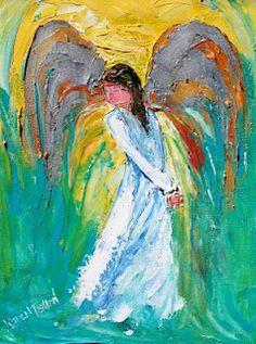 Karen Tarlton karen tarlton, art paintings, painting art, paint art, paints, karen paint, angels, branches, aa angel