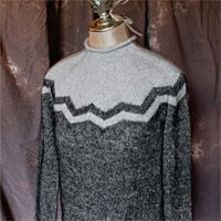 Moonlight pullover - sweater knitting pattern