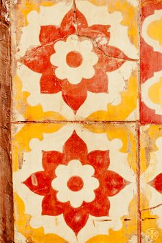 Tiles in Marrakech. Photograph by Noa Griffel. #marrakech #acuratedworld
