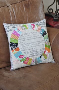 Pillow Talk Swap Pillow