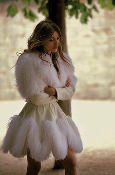 Elisa Sednaoui in Azzedine Alaïa haute couture by Benoit Peverelli for Madame Figaro 2011 _