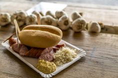 """Kranjska klobasa (Carniolan sausage) is the best known Slovenian speciality. The earliest known mention of a sausage referred to as """"kranjska klobasa"""" dates back to 1896. (Typical of Alpine Slovenia, the region of Gorenjska.)"""