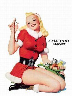 #Christmas #Pinup