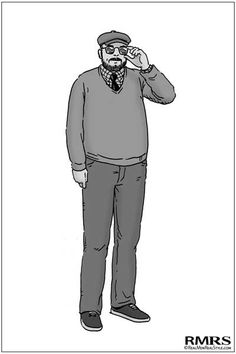 7 Style Tips for Large Men: The Big Man's Guide to Sharp Dressing (via @artofmanliness)