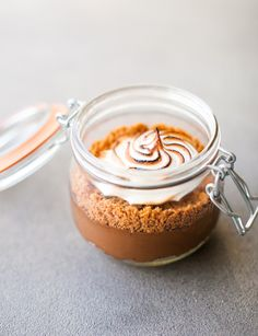 Smoked S'mores in a Jar Recipe