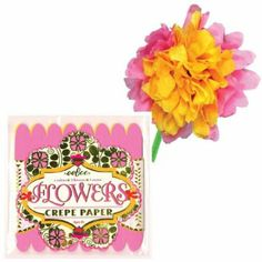 eeBoo Sasha Crepe Paper Flower