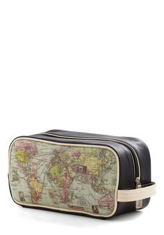 Cargo for It Map Travel Bag