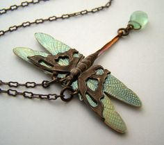 Dragonfly necklace love this