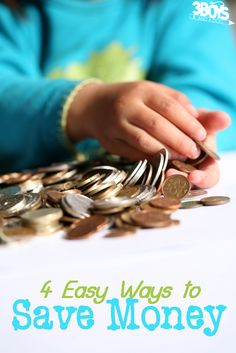 4 steps to saving money - Four Easy Ways to #Save Your Family Serious Cash