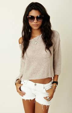 Brandy Melville Crop Sweater