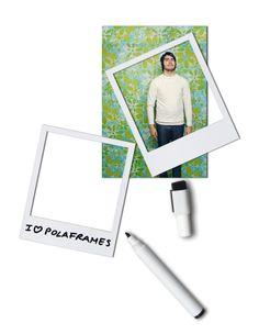 Polaroid Picture Frame Refrigerator Magnet