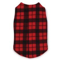 East Side Collection Polyester Fashion Fleece Dog Vest, Large, 20-Inch, Buffalo Plaid