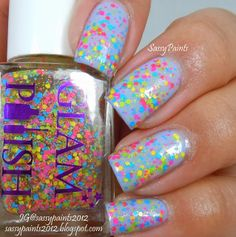 "Sassy Paints: Glam Polish  ""Twister"""
