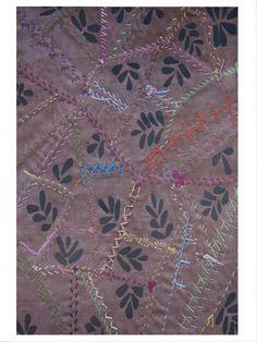 Domestic Construction - Patchwork Garden Digital Print Floor Mat | VAULT