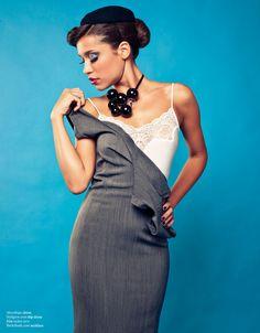Welcome Aboard editorial for Inspirer magazine // necklace Contessa Rosafosca on www.birikbutik.com
