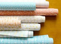 Dailylike wrapping paper 3 roll set por Harvard5f en Etsy, $15.90