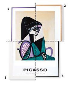 4 ways to frame an art poster.