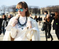 #Tommy Ton at #Paris Fashion Week