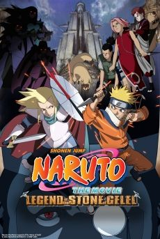 Phim Naruto: Huyền Thoại Đá Gelel