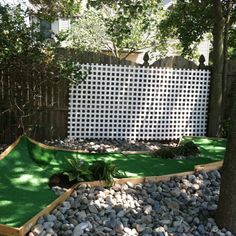 Mini golf hole:-) ( hs students final exam project = fun dad's dad present )