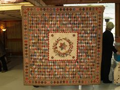 Quilts In The Barn: Quilts In The Barn Exhibition # 9 Drayton Hall