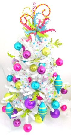 This is my colour theme for our Christmas tree this year! Bring on December 1st!!!