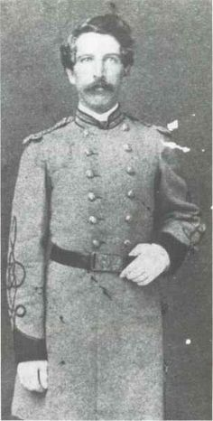 1st Lt. David G. Raney, Confederate States Marine Corps, was captured on the CSS Tennessee but escaped two months later