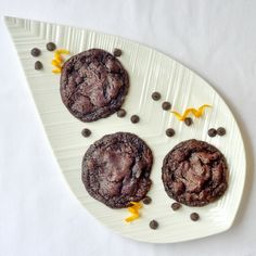 Orange Dark Chocolate Chip Cookies - one of the most popular cookie recipes we've ever featured. If you love the combination of chocolate and orange, this is YOUR cookie!