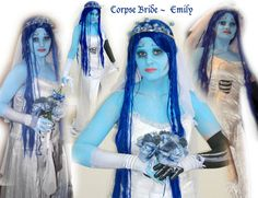 Corpse Bride - Emily by ~EveElle on deviantART  http://eveelle.deviantart.com/art/Corpse-Bride-Emily-56225995