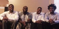 will.i.am gave these four young men college scholarships. They have used his gift very well.