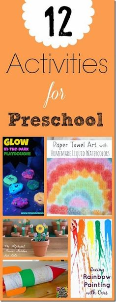 12 Preschool Activities Kids will LOVE!