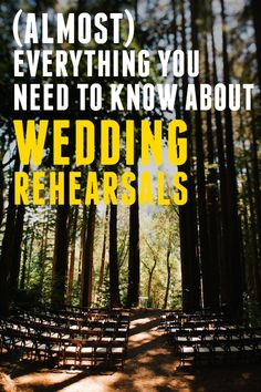 Get Sh*t Done: (Almost) Everything You Need to Know About Rehearsals A Practical Wedding: Blog Ideas for the Modern Wedding, Plus Marriage