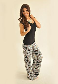 Palazzo pant.  These look so comfortable!