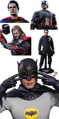 Treat the comic book movie geek in your life with Hot Toys
