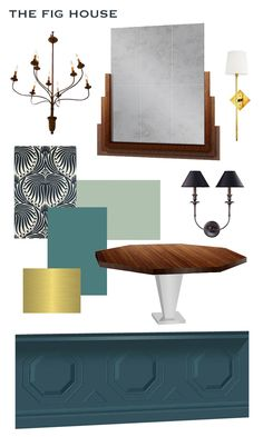 The Fig House, moodboard
