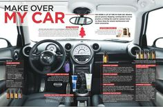 Car makeover with essential oils.  Click here for the full article from doTerra Living magazine.  Go to simplyessential.weebly.com for more info.