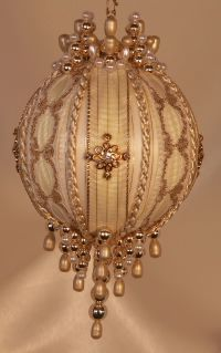 Victorian Style Christmas Tree Ornaments