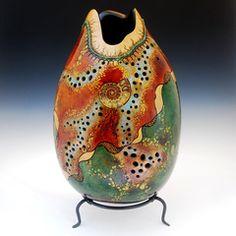carv gourd, galleries, gourd art, painted gourds, diy gourd