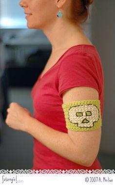 crochet your own tattoo :D