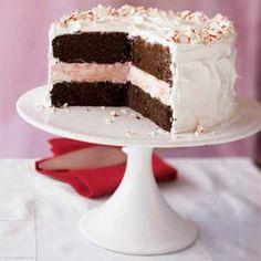 Peppermint Ice Cream Cake | MyRecipes.com