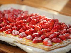 Tarta de frutillas por Narda Lepes | recetas | FOX Life